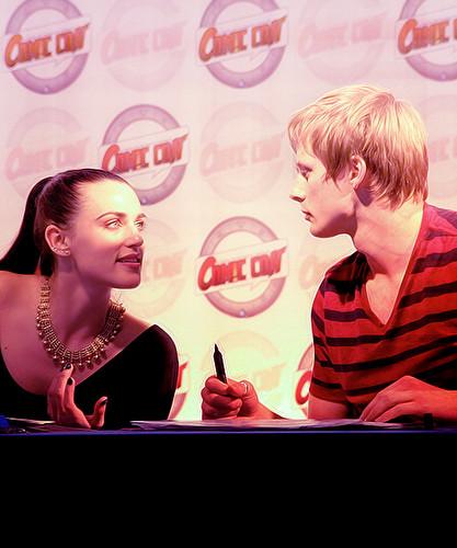 Bradley James & Katie McGrath