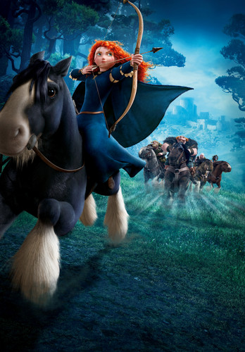 Rebelle and Merida images