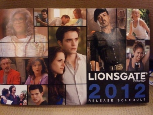 Breaking Dawn part 2 - Lionsgate catalogue