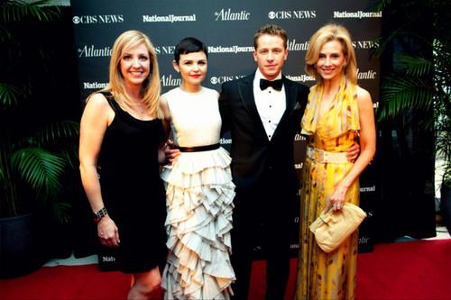 CBS News/Atlantic Media pre-dinner reception at the Hilton