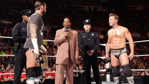 CM Drunk? Live field sobriety test - wwe Photo