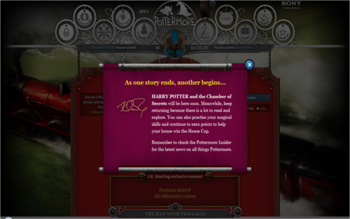 Chamber of secrets coming soon!! - pottermore Photo