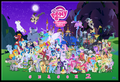 Character Cluster by Blue-Paint-Sea
