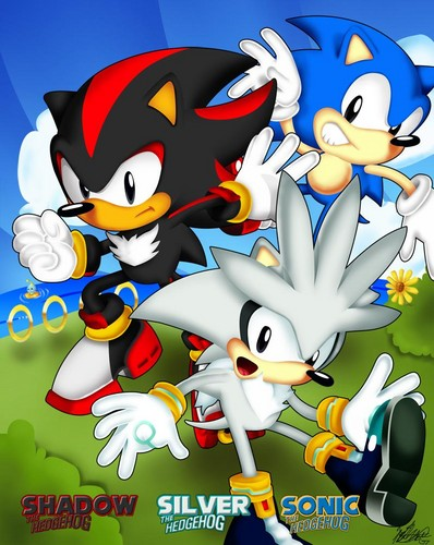 Nhím Sonic hình nền probably containing anime called Classic