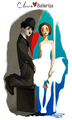 Clown and Ballerina - charlie-chaplin fan art