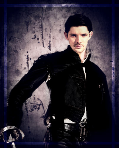 Colin as D'Artagnan
