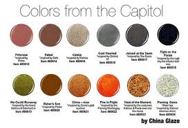 Colors from the Capitol nail polish