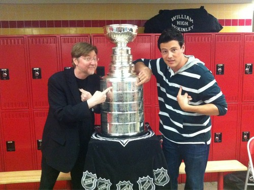Cory with Stanley Cup