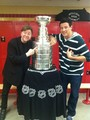Cory with Stanley Cup - cory-monteith photo