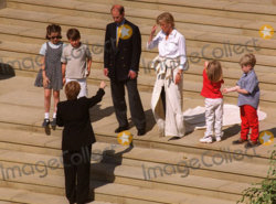 Countess Sophie and Prince Edward practicing for their wedding