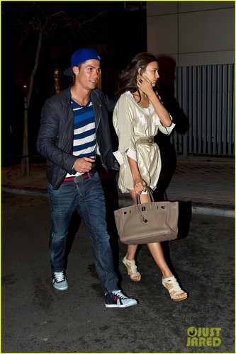 Cristiano Ronaldo &amp; Irina Shayk: Madrid Mates! - cristiano-ronaldo Photo