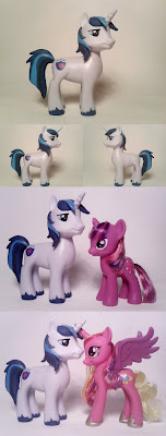 Custom Shining Armor and Cadance