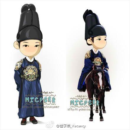 Cute Chibis for Rooftop Prince