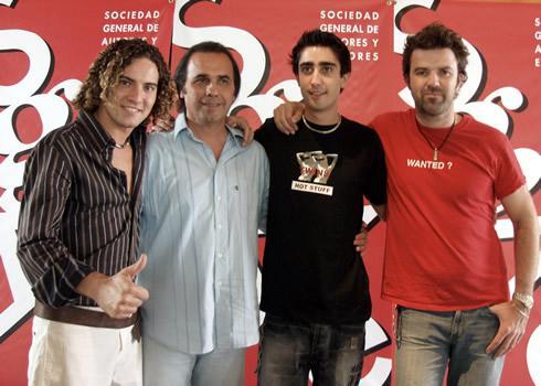 DAVID BISBAL Y JARABE DE PALO