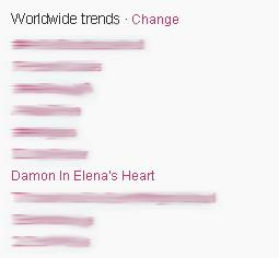 Damon in Elena's herz - trending worldwide <3