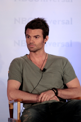 Daniel - NBC Universal Summer Press دن - April 18, 2012