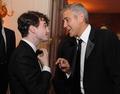 Daniel Radcliffe & George Clooney