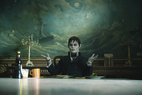 Tim Burton's Dark Shadows wallpaper probably with a concert, a sign, and a lectern entitled Dark Shadows!!