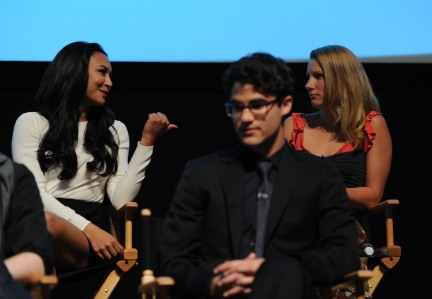 Darren Criss images Darren Criss at the Glee TV Academy Screening wallpaper and background photos