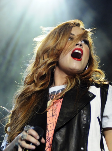 Demi - South America Tour Performances - Chevrolet Hall Belo Horizonte, Brazil - April 22, 2012