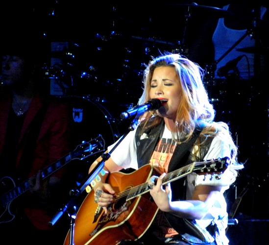 Demi - South America Tour Performances  - Chevrolet Hall Belo Horizonte, Brazil - April 22, 2012