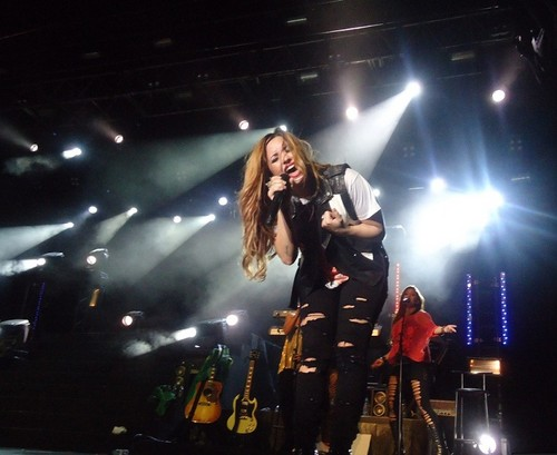 Demi - South America Tour Performances  - Chevrolet Hall Belo Horizonte, Brazil - April 22, 2012 - demi-lovato Photo