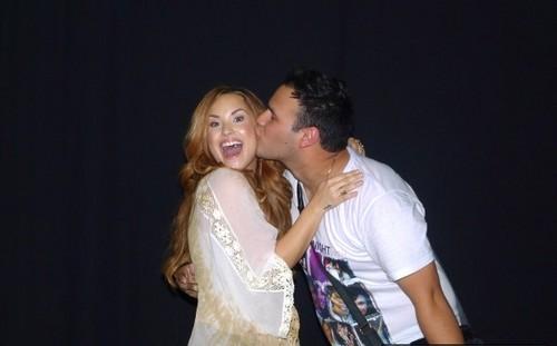 Demi - South America Tour Meet & Greets - Chevrolet Hall Belo Horizonte, Brazil - April 22, 2012