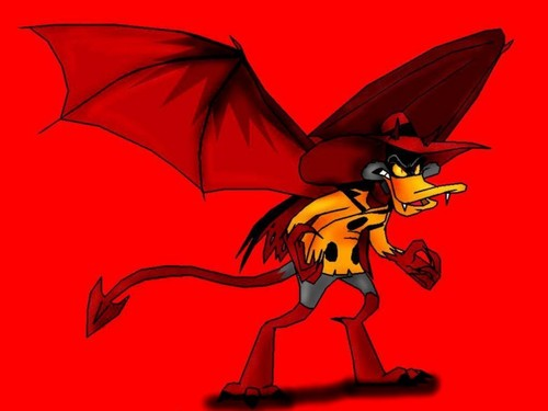 Demon Negaduck - darkwing-duck Fan Art