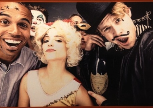 Dianna Agron's birthday party