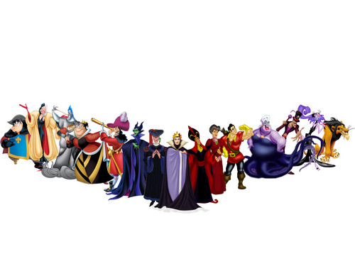 ディズニー Villains Line Up