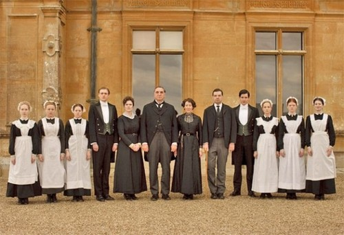 Downton - Downstairs - downton-abbey Photo