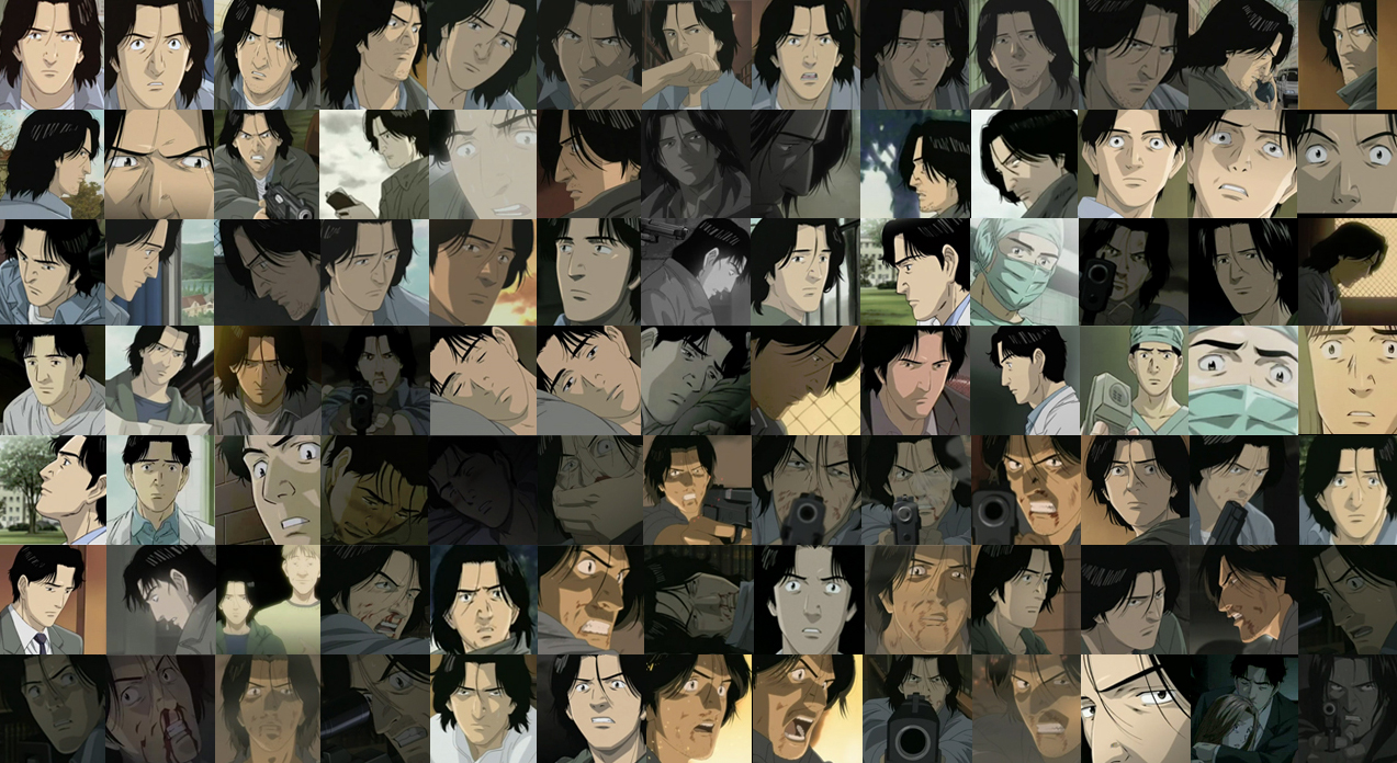 Dr. Tenma Icon Collage