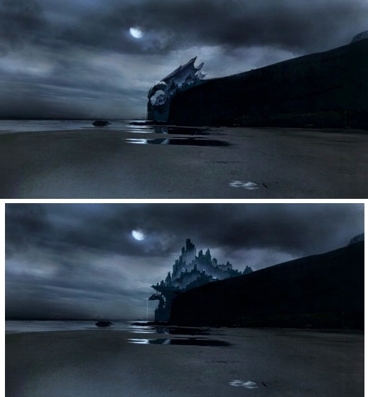 Dragonstone Concept Art