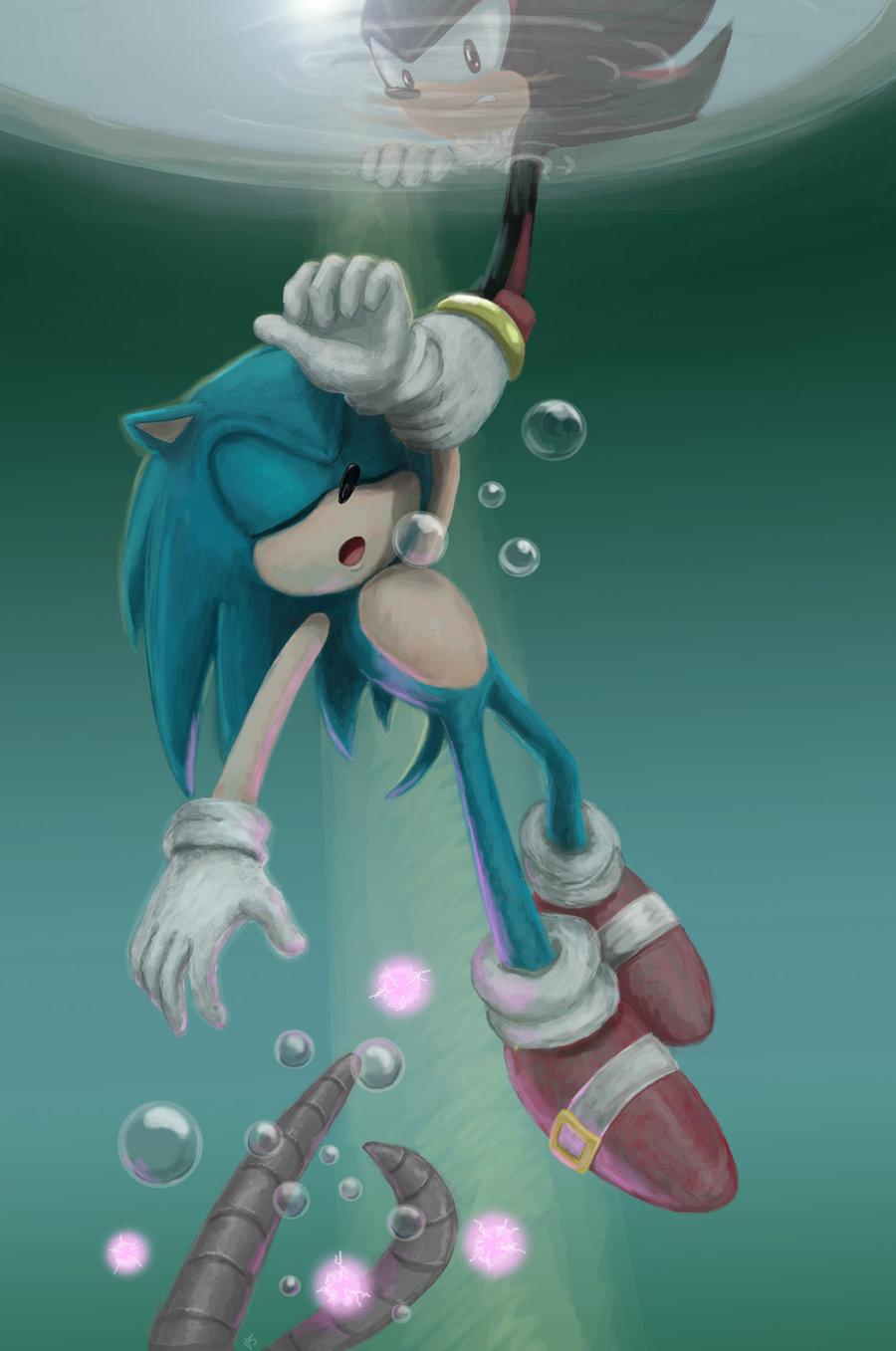 Drown Sonic The Hedgehog Fan Art 30624174 Fanpop Page 5