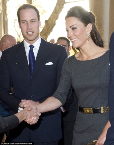 Duchess Catherine and Prince William at Imperial War Museum