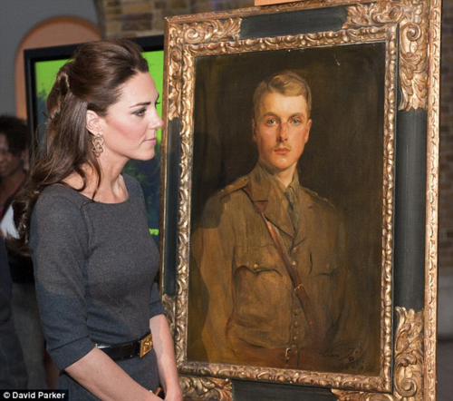 Duchess Catherine at Imperial War Museum