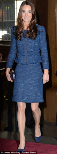 Duchess Catherine at event for South Pole trek soldiers