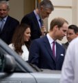 Duchess Catherine and Prince William attends Princes' Charities フォーラ