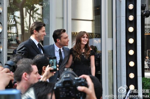 ED WESTWICK & LEIGHTON MEESTER in SHANGHAI for HARRY WINSTON / - April 27, 2012