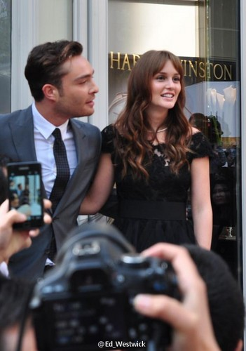 ED WESTWICK & LEIGHTON MEESTER in SHANGHAI for HARRY WINSTON