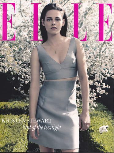 ELLE UK OUTTAKE - kristen-stewart Photo