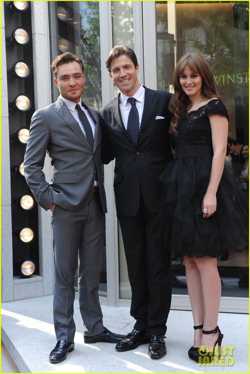 Meester leighton and ed westwick
