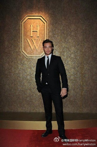 Ed at Harry Winston