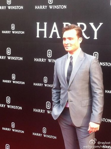 Ed in China for Harry Winston