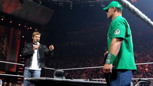 Edge return to Raw