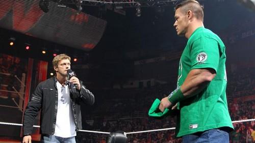 Edge return to Raw