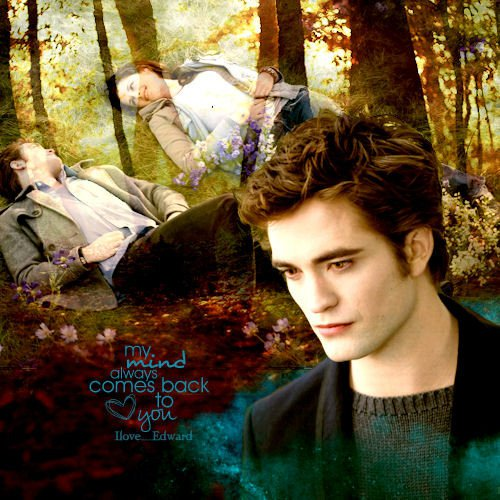 爱德华·卡伦 壁纸 possibly with a street, a sitka spruce, and an outerwear called Edward Cullen My fav Vampire! <3