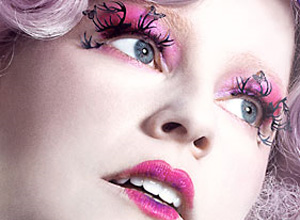 The Hunger Games wallpaper entitled Effie Trinket: Model Shot