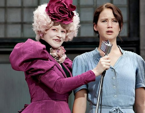 Effie and Katniss - the-hunger-games Photo