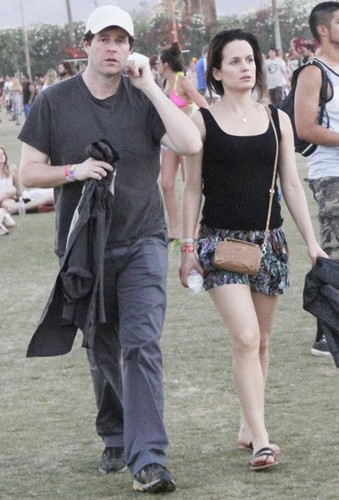 Elizabeth at Coachella Music Festival 2012.